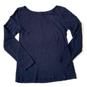 ⏰5/$25 J. Crew Womens M Artist Tee Shirt Blue